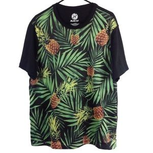 Hybrid Pineapple T Shirt Men's Sz XL
